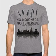 Six Of Crows - No Mourne… Mens Fitted Tee Tri-Grey SMALL
