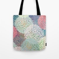 Abstract Floral Petals 3 Tote Bag