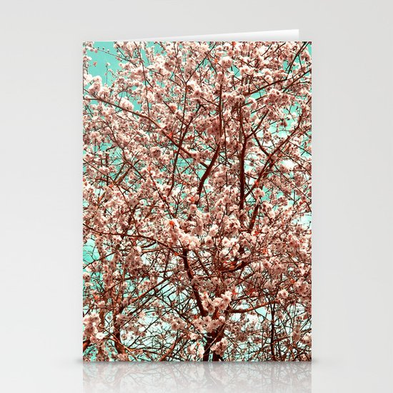 cherry blossom Stationery Card