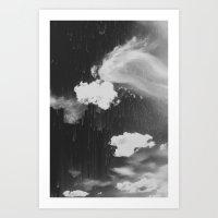 Cloudy Daze Art Print