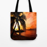 Tropical Beach 3 Tote Bag