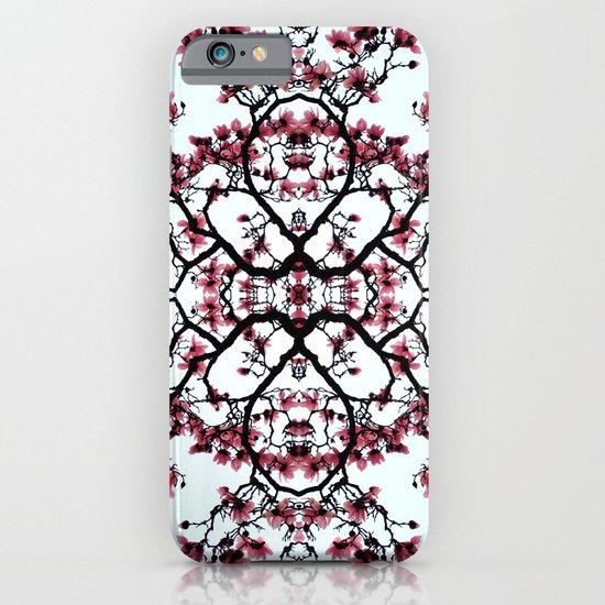 magnolia silhouette iPhone & iPod Case