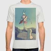 The Giant Conejo Mens Fitted Tee Silver SMALL