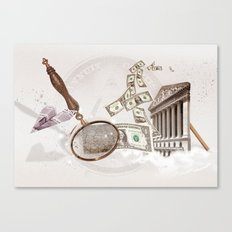 WALL STREET Canvas Print