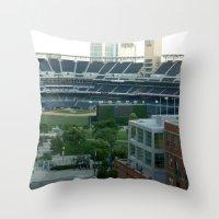 Petco Park Field Throw Pillow