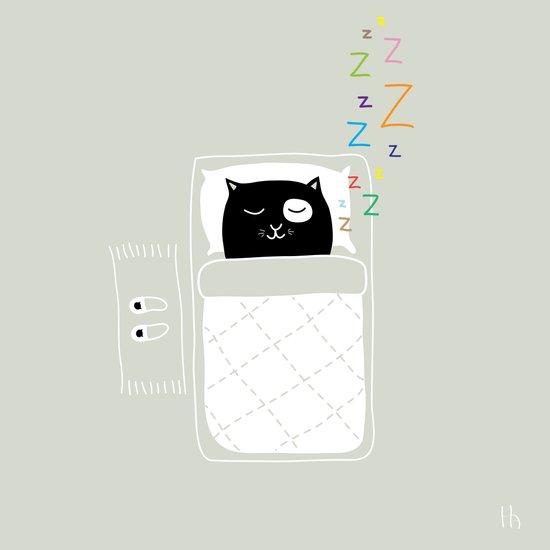 The Happy Dream Art Print