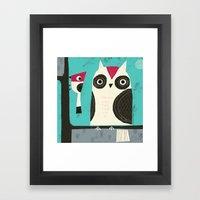 BIRD BUDDIES Framed Art Print