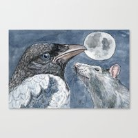 Moon C027 Canvas Print