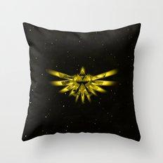 Zelda - Triforce Throw Pillow