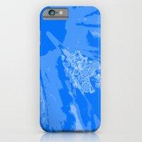 Intimate blue iPhone 6 Slim Case