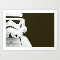 Trooper Portrait Art Print