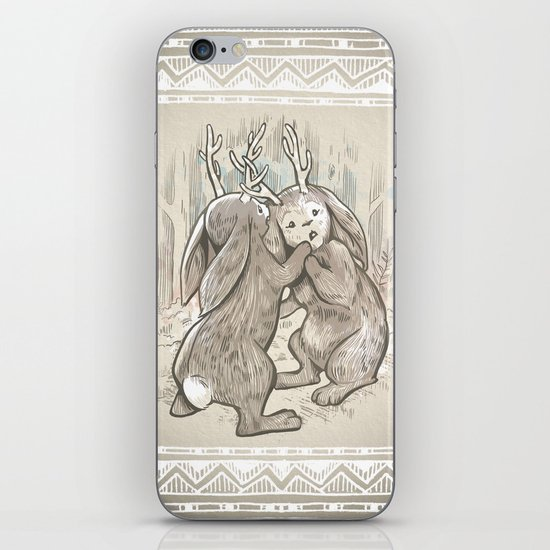 An Awkward Quarrel iPhone & iPod Skin