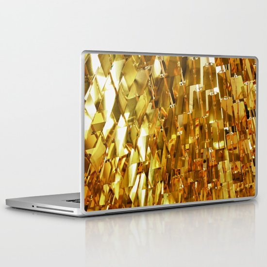Golden Sky Laptop & iPad Skin