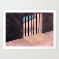 I don't know the way out Art Print