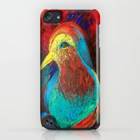 iPod Touch Cases featuring Brilliant Celebration Birdie by ANoelleJay