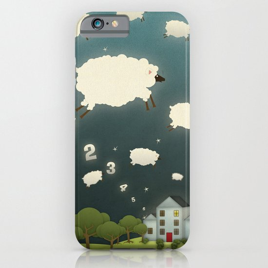 Counting Sheep iPhone & iPod Case