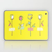Rosewall (on Yellow) Laptop & iPad Skin