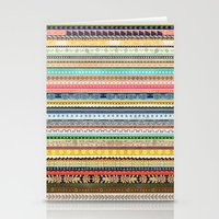 Vintage Handmade Pattern Stationery Cards