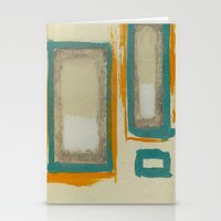 Soft And Bold Rothko Ins… Stationery Cards