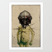 Masque 1 Art Print