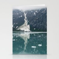 alaskan ice. Stationery Cards
