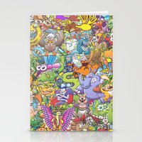 Creatures Festival Stationery Cards