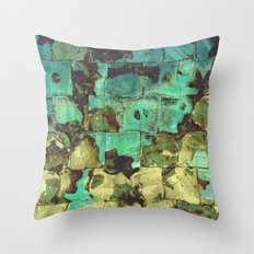 Systemic Collapse Throw Pillow