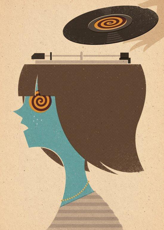 Mind Control Art Print