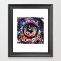 Oracular Orbit Framed Art Print