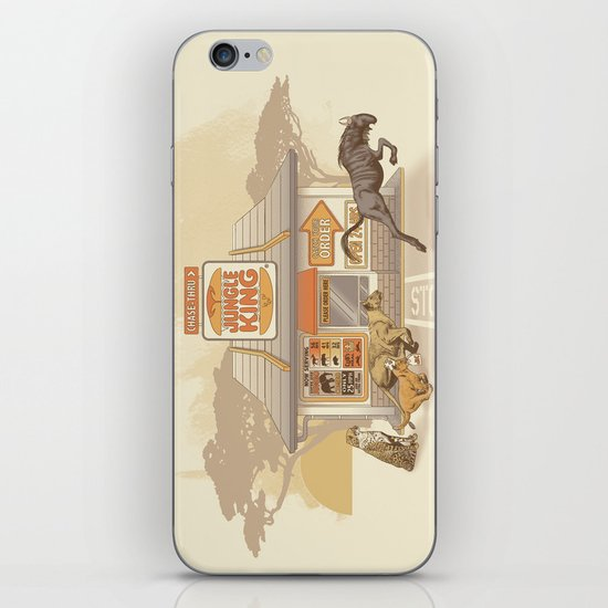Fast Food (Jungle King) iPhone & iPod Skin