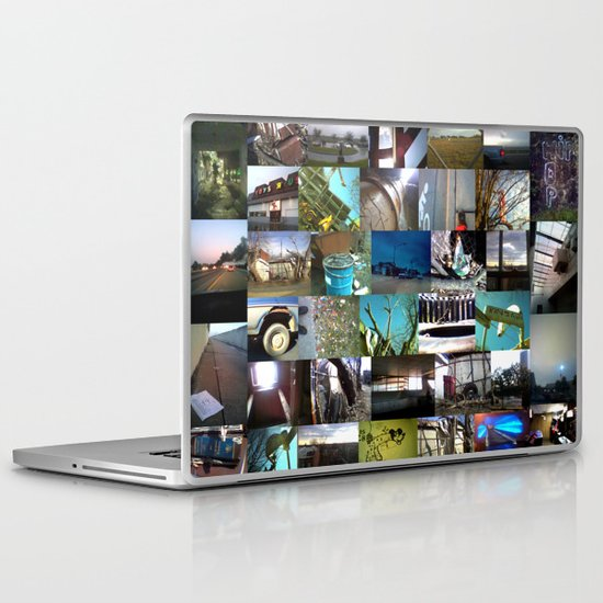 """good kid, m.A.A.d city"" by Cap Blackard Laptop & iPad Skin"