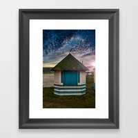 The Hut Framed Art Print