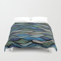 Waves Duvet Cover