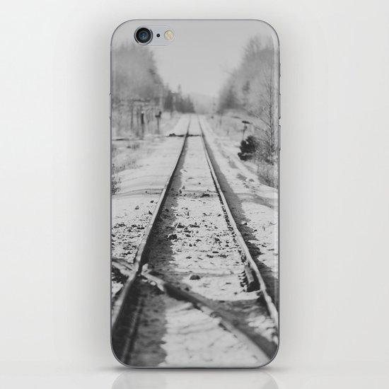 Tracks in Snow iPhone & iPod Skin
