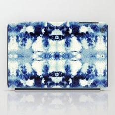 Tie Dye Blues iPad Case
