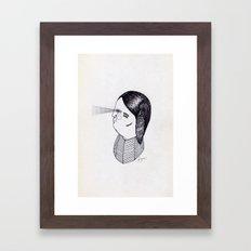 Apache Godfather Framed Art Print