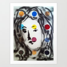 VENUS HIRSTED Art Print