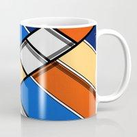 Lined I Mug