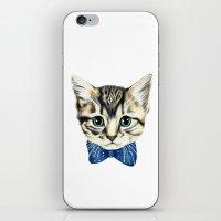 Un petit chaton iPhone & iPod Skin