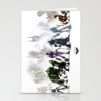 Gears Linup Stationery Cards