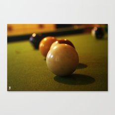 Snookered Canvas Print