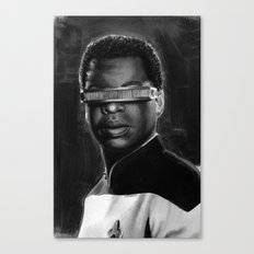 geordi Canvas Print