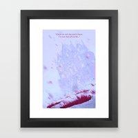 Crimson Peak Framed Art Print