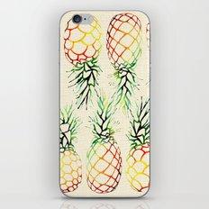 Burlap Pineapples iPhone & iPod Skin
