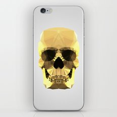 Polygon Heroes - Gold Skull iPhone & iPod Skin