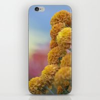 Autumn Botanical -- Gold… iPhone & iPod Skin