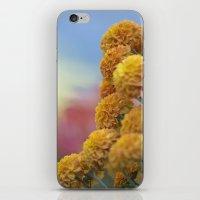 Autumn Botanical -- Gold… iPhone & iPod Skin
