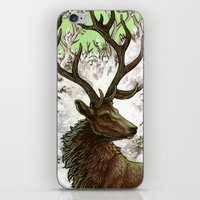 Red Stag iPhone & iPod Skin