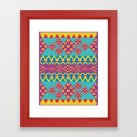 AFRICAN_STYLE03_ANALUISA Framed Art Print