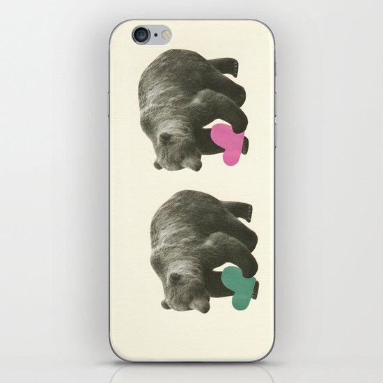 A Bear Romance iPhone & iPod Skin